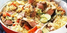 lamb rice lamb served spicy lamb moroccan lamb capsicum rice recipe ...