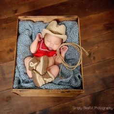 the CoOl Kids - Cute as Can Be Cowboy Hat and Booties Set for Newborn Boys at http://www.melondipity.com. These sweet cowboy sets are handmade right here in the Good Ole USA. The set includes an adorable newborn cowboy baby hat and a pair of the cutest cowboy booties you have ever seen. Theses hat and booties are light brown with dark brown detailing. Price: $48.99 #thatseasier #cool #kids