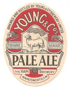 Young & Co's Brewery Ltd Beer Advertisement, Advertising, Beer History, British Beer, Adirondack Park, Beer Mats, Vintage Cafe, Beer Coasters, Beer Brands