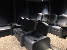 Elite Home Theater Seating Design Gallery. With an infinite number of custom combinations, you can create the perfect seats for your dream theater.