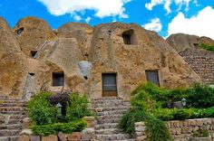 Kandovan village - tabriz - Iran. only Village living reef of the world