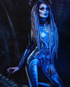 Altmodel Influencer Artist ( katrin lanfire) • Фото и видео в Instagram  Alien Cosplay 3e5c579c3