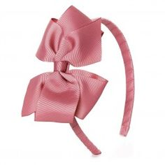 Big bow hairband - Dusty pink