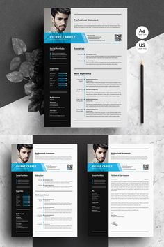To get the job, you a need a great resume. The professionally-written, free resume examples below can help give you the inspiration you need to build an impressive resume of your own that impresses… Resume Design Template, Cv Template, Resume Templates, Graphic Design Resume, Cv Design, Site Design, Resume Format, Resume Cv, Resume Help