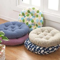 Simple Thicken Chair Cushions Round Car Seat Pad Tatami Floor Pad Mats almofada decorativa Coussin Decorative Pillows For Home _ {categoryName} - AliExpress Mobile Version - Round Seat Cushions, Cute Cushions, Chair Cushions, Car Seat Pad, Seat Pads, Office Chair Cushion, Nursery Furniture Sets, Home Room Design, Diy Home Crafts