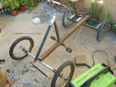 Auto a pedales hecho con material reciclado! - Página 2