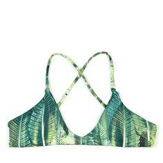 "Palm ""Nani"" Top by Midori Bikinis LLC"