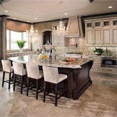 Gorgeous kitchen by @tuttointeriors