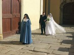 Old Nuns in Habits | It is traditional for the future bride of Christ to come to the ...