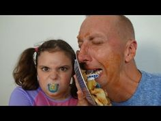 Bad Baby Cake Baking Fail Victoria Annabelle Freak Daddy Toy Freaks Family - YouTube