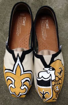 New Orleans Saints NFL Painted Toms by ...