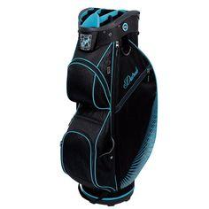 Black/Turquoise Datrek Ladies/Men's CB-Lite Cart Golf Bag available at #lorisgolfshoppe
