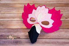 Francesca the Flamingo Mask Costume for pretend play