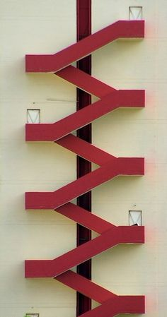 Ideas For Exterior Stairs Design Architecture Stairways Stairs Architecture, Architecture Details, Interior Architecture, Photo D'architecture, Espace Design, Balustrades, Exterior Stairs, Fire Escape, Take The Stairs