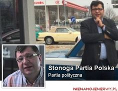 Partia Stonogi już działa: Stonoga Partia Polska http://www.nienamojenerwy.pl/partia-stonogi-juz-dziala-stonoga-partia-polska/