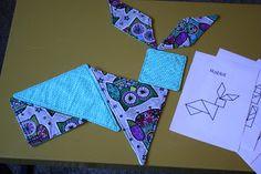Fabric Tangrams