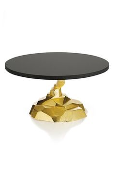 Free shipping and returns on Michael Aram 'Rock' Cake Stand at Nordstrom.com. This sleek golden and ebony stand proffers cake in fabulous style, while adding a modern, eye-catching accent to the table. Inspired by Cubism and Art Deco, the Rock collection is Michael Aram's artful, glamorous re-interpretation of natural forms.