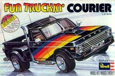 Revell Fun Truckin' Courier box art