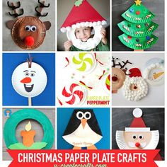 Paper Plate Christmas Crafts - UCreate