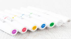 Video review of the new Winsor & Newton Pigment Markers. Find out more by clicking the following link: http://limedoodledesign.com/2015/12/video-winsor-n…igment-markers/