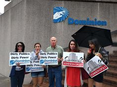 Articles | Riverrock protesters 'blow whistle' on Dominion's coal ash wastewater initiative and greenwashing | RVA Magazine | Richmond, VA