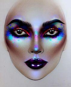 "10.6k Likes, 36 Comments - Sergey X (@milk1422) on Instagram: ""#artist@milk1412 ✨ #mylove #myart #myartistcommunity #myartistcommunityrussia #makeup #makeupart…"""