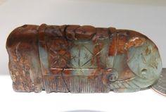 Antique Hand Carved Elephant jade stone AMAZING Chinese jade Nephrite Jadeite #Chinese