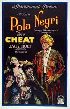 Pola Negri~ 'The Cheat', 1923...