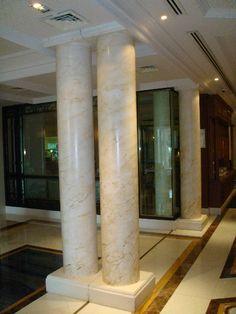 Graining marbling 39 specialist art decoration on - Columna de marmol ...