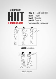 HIIT workouts include brief yet extensive exercise sessions, which is why it is extremely important for the pre-workout diet plan to be high in energy. Workout Diet Plan, Workout Days, Kickboxing Workout, Cardio Hiit, Workout Board, High Intensity Workout, Intense Workout, 30 Days Of Hiit, Good Pre Workout