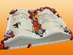 Wedding cake style of book