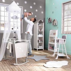 Great idea for a little boy& room babyboyrooms Baby Bedroom, Baby Boy Rooms, Baby Room Decor, Baby Boy Nurseries, Nursery Room, Kids Bedroom, Ideas Habitaciones, Baby Zimmer, Nursery Inspiration