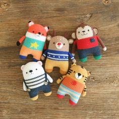 handmade amigurumi crochet doll toys