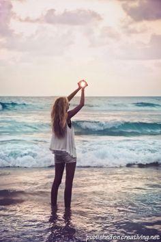 Идеи для пляжной фотосессии (25 фото) - creativing.net