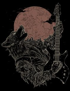 The Rock Werewolf, Javier Ramos on ArtStation at https://www.artstation.com/artwork/Jrqma
