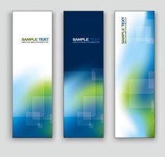 Exquisite vertical banner design vector 02 – Over millions vectors ...