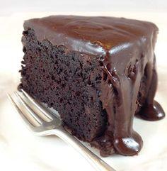 Recept: Suikervrije en koolhydraatarme chocoladetaart