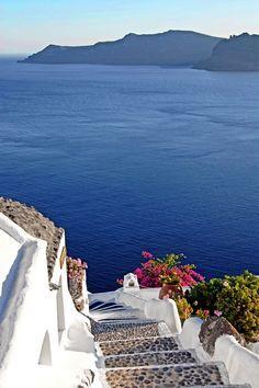 Caldera Steps in Oia - Santorini