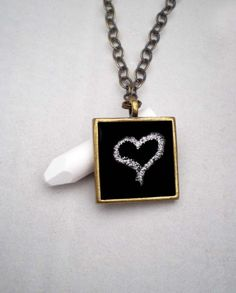 Birthday, Valentines, Christmas - doesn't matter you create the message with a chalkboard pendant