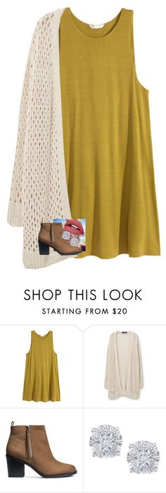 """Read the Description"" by granola24 ❤ liked on Polyvore featuring H&M, Violeta by Mango and Effy Jewelry"