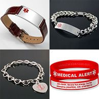 Premier Silicone ID Bracelets – Engraved Medical Bands with QR Codes
