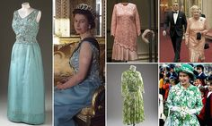 Dresses that ruled Britain: An intriguing exhibition unveils the secrets behind the Queen's historic outfits   Daily Mail Online