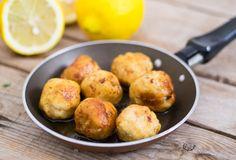 Polpette+di+pollo+al+limone