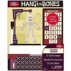 T.S. Shure Hang'Em Bones Wooden Magnetic Hangman Game