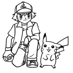 Simple Pikachu Coloring Pages Ideas for Children. Pikachu coloring pages ideas are appropriate for children and adult (beginner). Pikachu Coloring Page, Pokemon Coloring Pages, Cartoon Coloring Pages, Coloring Pages To Print, Coloring Book Pages, Pikachu Pikachu, 150 Pokemon, First Pokemon, Free Coloring Sheets