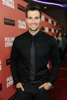 "James Maslow...reminds me of ""Zach Morris"" saved by the bell."