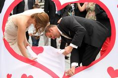 INGENIOUS: The top 50 of the best wedding games with which you conjure up an exuberant mood at every wedding celebration, Wedding Activities, Wedding Games, Wedding Favor Bags, Perfect Image, Woodland Wedding, The Conjuring, Vintage Tops, Diy Vintage, Celebrity Weddings
