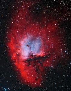 Aug. 4, 2017 - Pacman Nebula  High - mass stars are important because they are responsible for much of the energy pumped into our g...