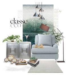 """Classe Comfort..."" by desert-belle on Polyvore featuring interior, interiors, interior design, home, home decor, interior decorating, Parvez Taj, Serena & Lily, Crate and Barrel and ESPRIT"