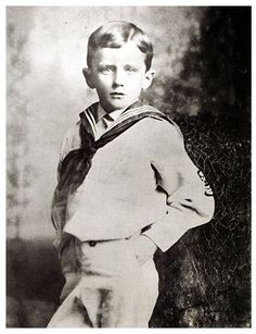 James Joyce, Six Years Old, Rockin' a Sailor Suit